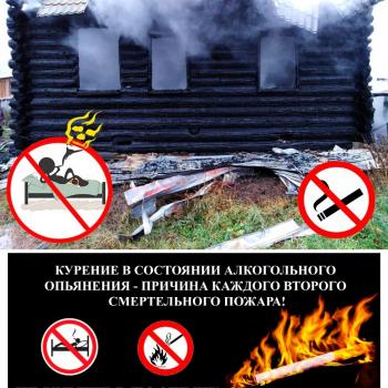 Постер - Курение
